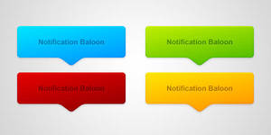 Notification Balloons by thearslan