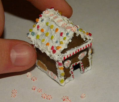 Gingerbread House: 1:3 Scale by sonickingscrewdriver