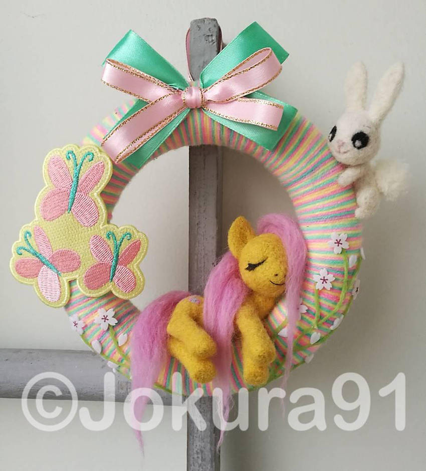 Fluttershy wreath by Jokura91