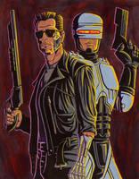 Robocop Vs Terminator by HectorEnriquez