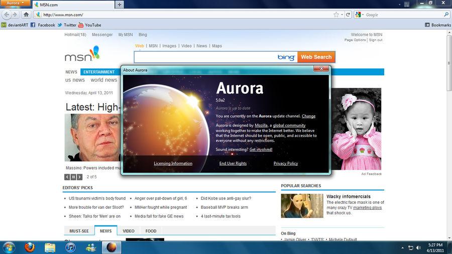 Firefox 5 0a2 by Firefoxplz on DeviantArt