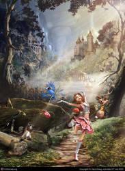 Little Run-away Princess by JackZhang