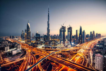 Dubai City Wallpaper 1 by Sumanth0019