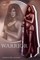 Warrior by dividedmind