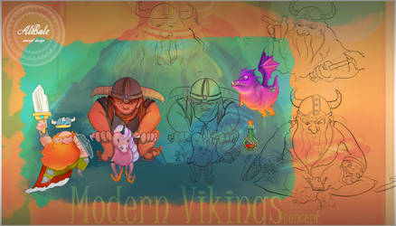 Vikings by dividedmind