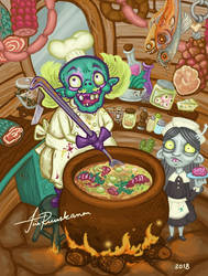 Chef Pete Gnaws by Fragile-yet-CunNINg