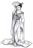 Geisha by Lunasumerin