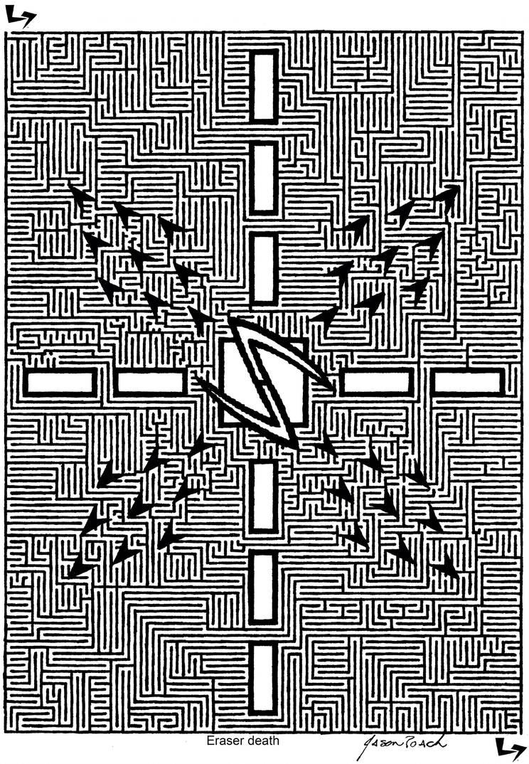 Eraser Death By Else7en-dj2432 by eLse7en