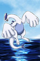 Lugia - Lord of the Oceans by Morwint