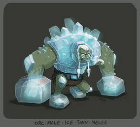DH - orc ice tank by shoze
