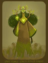 DH final roll - forest healer spirit by shoze
