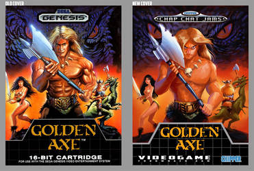 golden axe Videogame Homage Jam by shoze