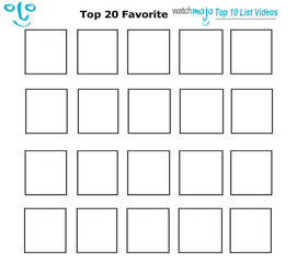 Top 20 WatchMojo.com Top 10 List Videos Meme by JackSkellington416