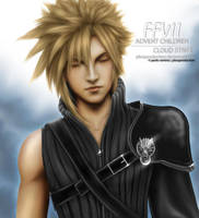 FFVII: Advent Children - CLOUD by pbozproduction
