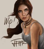 Lara Croft WIP by pbozproduction