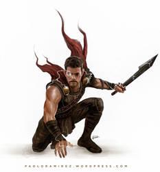 Thor Ragnarok by pbozproduction
