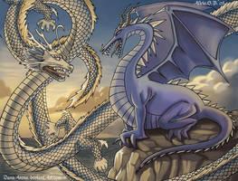 Dragones by DanaArena