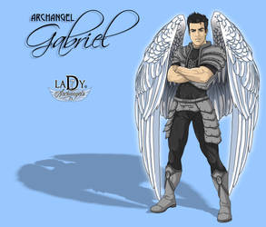 Archangel Gavriel by L7A by lady7archangels
