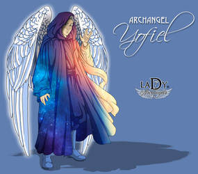 Archangel Yofiel by L7A by lady7archangels