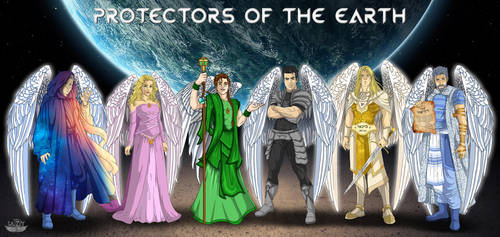 Protectors of the Earth #2  by L7A by lady7archangels