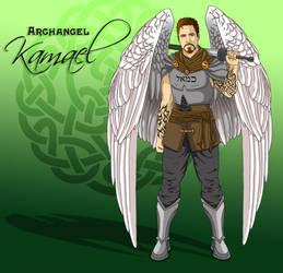 Archangel Kamael by L7A by lady7archangels