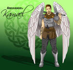 Archangel Kamael by L7A by lady7archangels