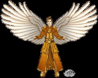 The secret of Monarch Butterfly's angel by lady7archangels