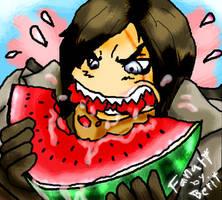 Trevor's watermelon by WAH-HOO