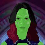 Gamora by spenelo
