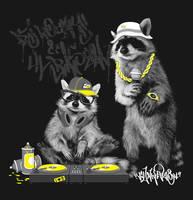 DJ Rocky and Lil Rascal by pete-aeiko