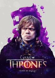 Game of Thrones 'Hear me Roar' by pete-aeiko