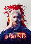 Game of Thrones 'Fire and Blood' by pete-aeiko