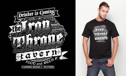 The Iron Throne Tavern by pete-aeiko
