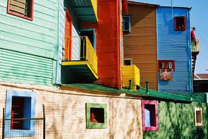 La Boca - houses by jorgeluis