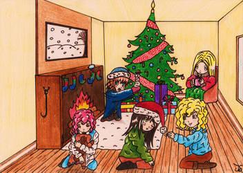 VC Christmas 'Christmas Contest' by Gay-Girl100