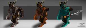 Uni Major Project - Troll Hunters Characters by NukaPooka