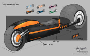 Uni Major Project - Drag Racing Bike by NukaPooka