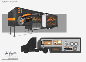 Uni Major Project - Drag Racing Truck by NukaPooka