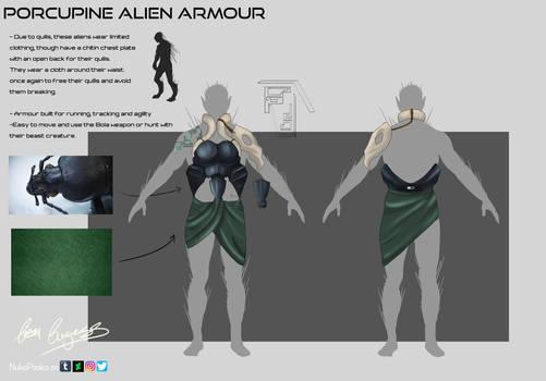 University Major Project - Porcupine Armour by NukaPooka