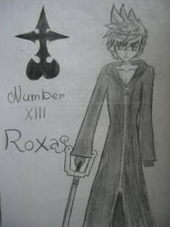 Roxas - Kingdom hearts 358/2 Days by Kairica