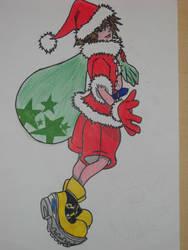 Sora - Christmas by Kairica