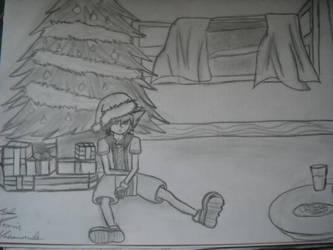 Sora Christmas by Kairica