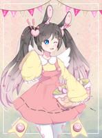 Secret Easter Bunny | Beatrice by xwanwan