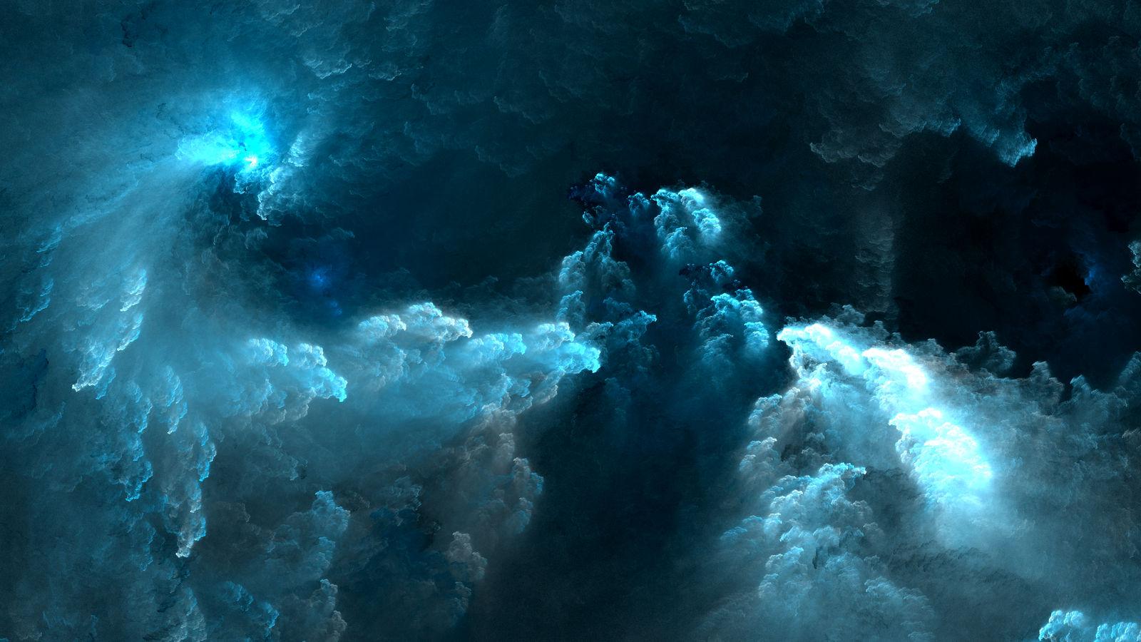 Blue invasion by luisbc