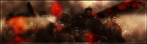 Gears of War 2 Signature by Fernifer