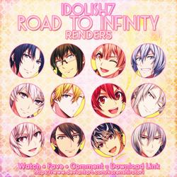 [Render Pack] IDOLiSH7 - Road to Infinity by KarenShirotori