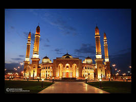 Alsaleh mosque by 3naturesongs