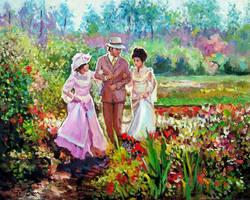 Garden walk by Dreamnr9