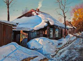 Winter morning by Dreamnr9