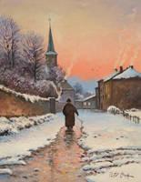 Winter Evening by Dreamnr9